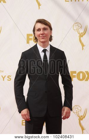 LOS ANGELES - SEP 20:  Paul Dano at the Primetime Emmy Awards Arrivals at the Microsoft Theater on September 20, 2015 in Los Angeles, CA