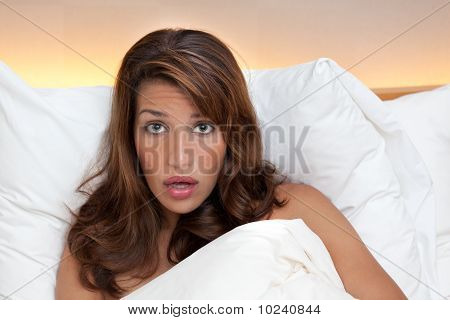 Surprised In Bed