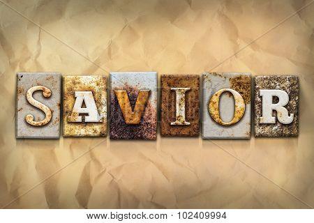 Savior Concept Rusted Metal Type