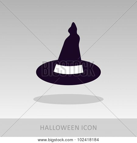 Halloween, Witch Hat Icon