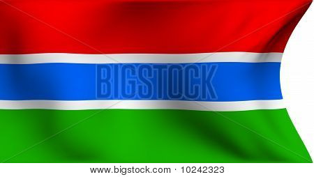 Flag Of Gambia