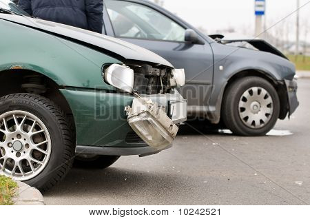 Unfall Autounfall