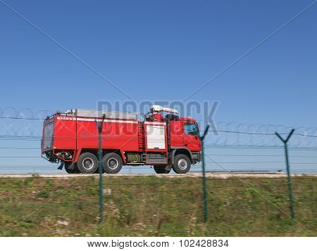 Special Red Fire Engine Rides
