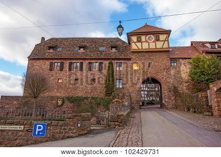 City Gate Of Dilsberg