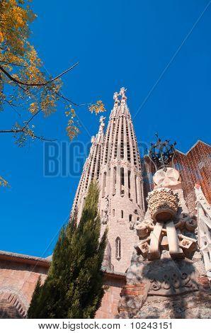 Temple / Church Of The Sagrada Familia, Barcelona