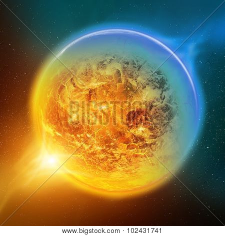 Global Warming On Planet Earth