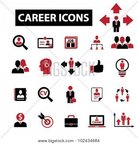 career, job icons