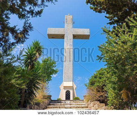Cross At Filerimos Rhodes