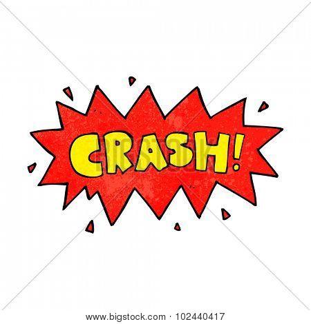 cartoon comic book crash symbol