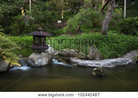 Japanese Garden Pond