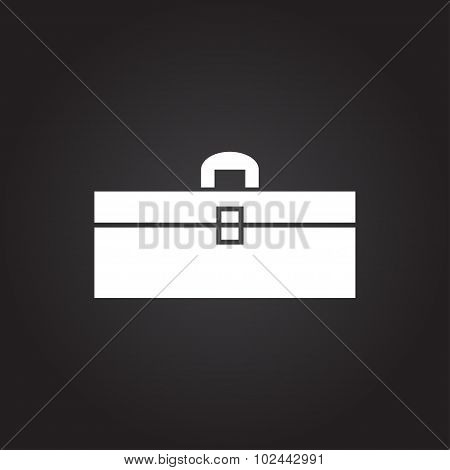 Vector color flat toolkit icon