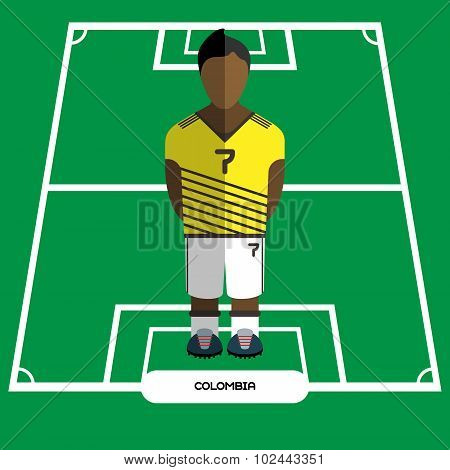 Computer Game Colombia Football Club Player