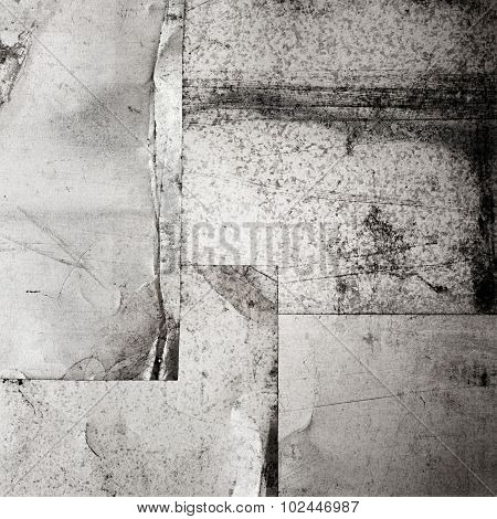 scratched grunge metal sheets