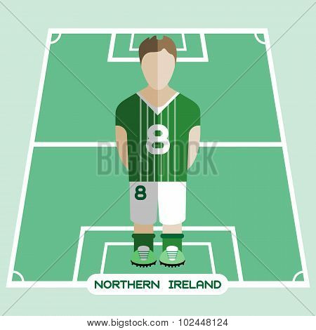Computer Game Northern Ireland Football Club Player