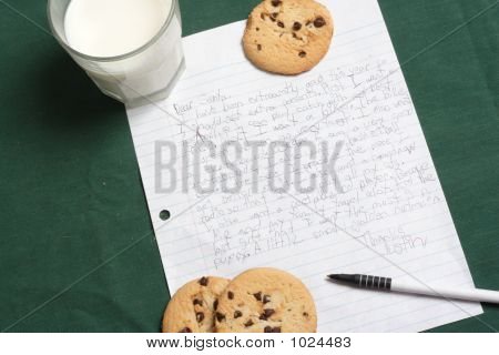 Letter To Santa Clause