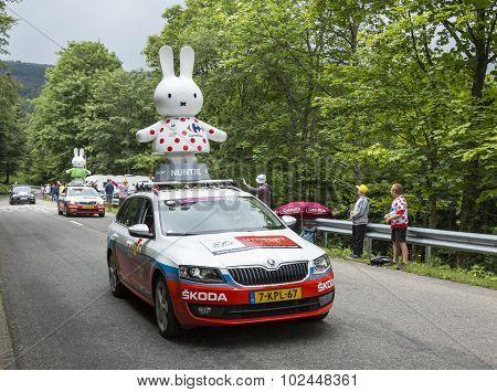 Nijntje Caravan - Tour De France 2014
