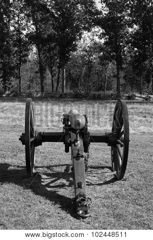 Cannon At Pea Ridge