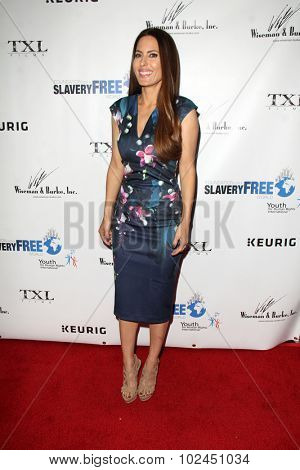 LOS ANGELES - SEP 21:  Kerri Kasem at the The Human Rights Hero Awards at the Beso on September 21, 2015 in Los Angeles, CA