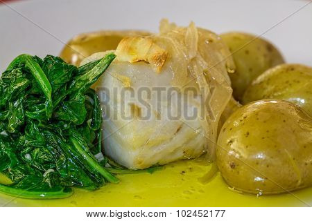 Cod Fish With Potatoes