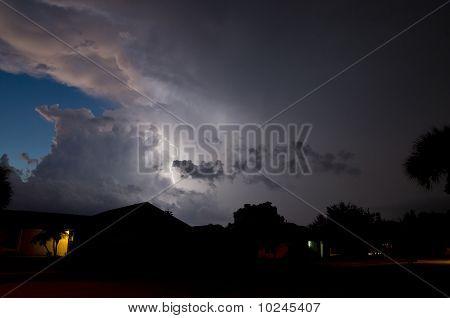 Sonnenuntergang Storm