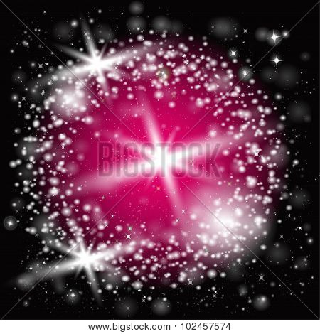 Abstract laser light background vector