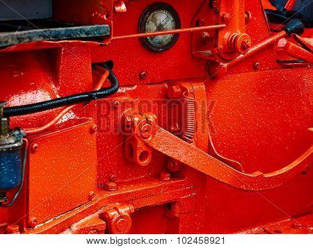 Transportation Engine Motor Background