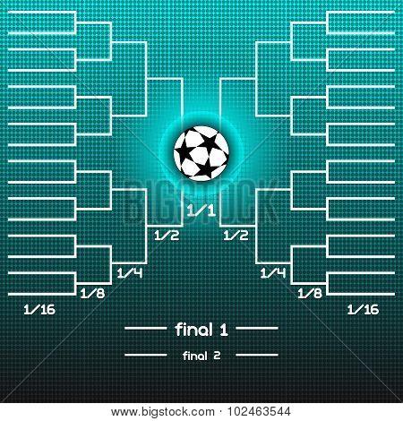 World Cup Team Scoreboard.