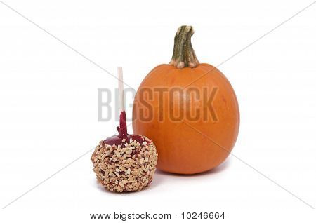 Candy Apple and Pumpkin