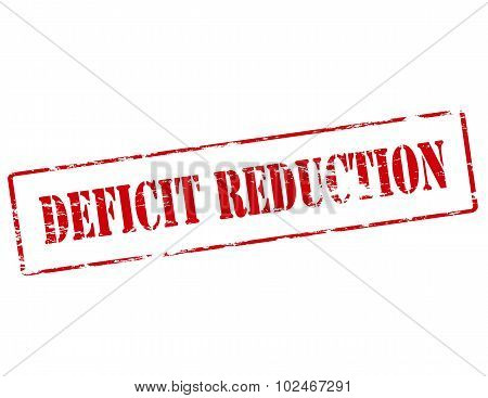 Deficit Reduction
