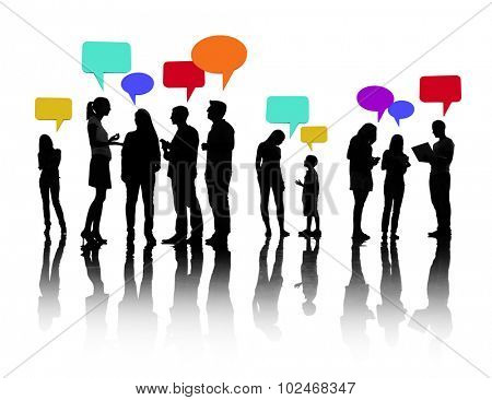 Communication Community People Discussion Talking Concept