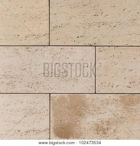 Light Concrete Blocks Similar To Sandstone