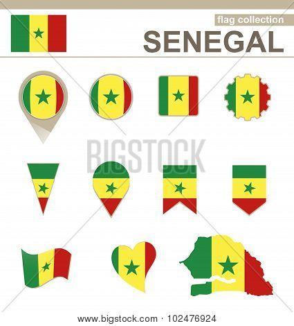 Senegal Flag Collection