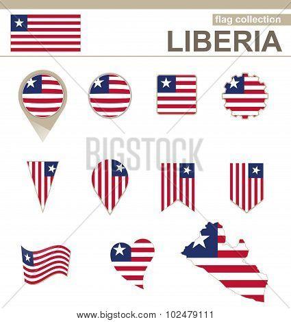 Liberia Flag Collection
