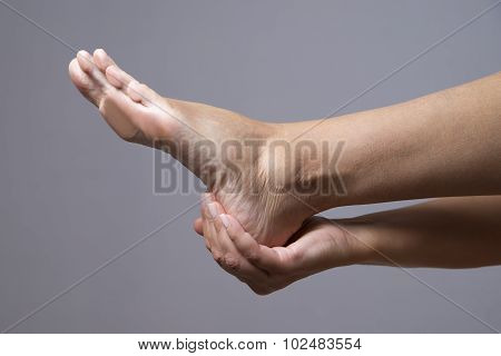 Massage Of Female Feet