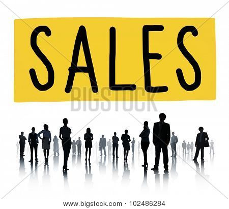 Sales Economy Financial Selling Money Concept