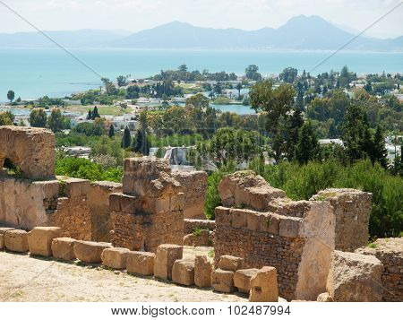 Carthage Tunisia Roman Baths Of Antonine