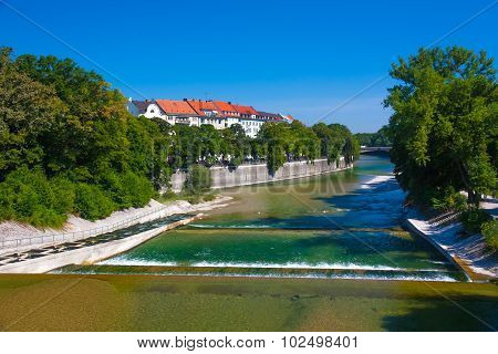 Munich River Isar