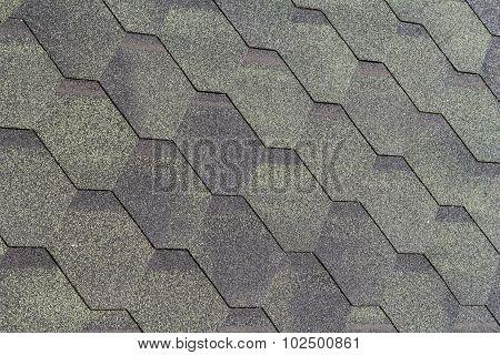 Texture Of Artificial Green Bitumen Tiles