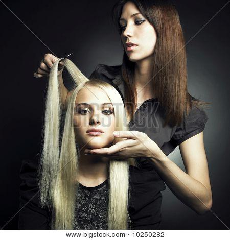 Cliente e estilista