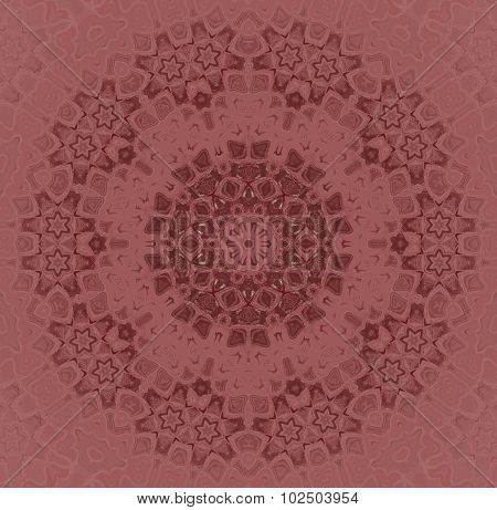 Seamless floral pattern red brown