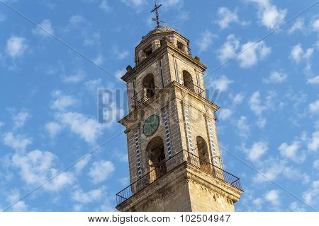 Minaret Of The Jerez De La Frontera Cathedral, Spain