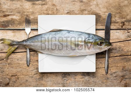 Restaurant Seafood Menu Background