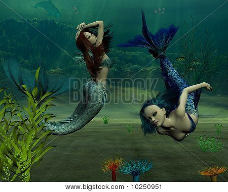 Meerjungfrauen küssen besser