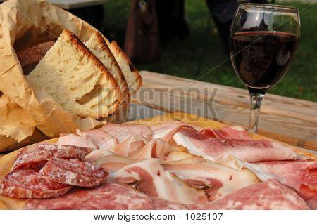 Dish Of Salami