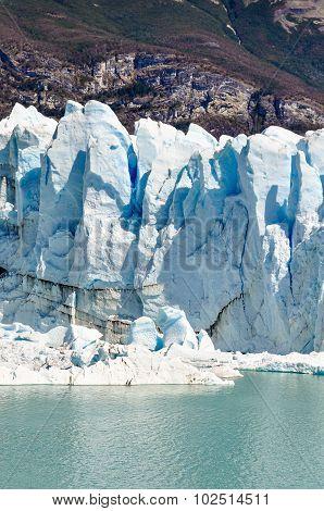 Ice Wall, Perito Moreno Glacier, Argentina