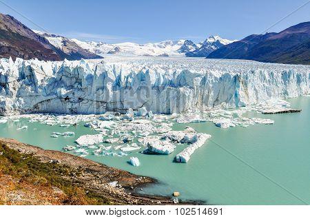 Panoramic View, Perito Moreno Glacier, Argentina