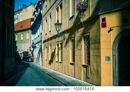 Prague, old town street