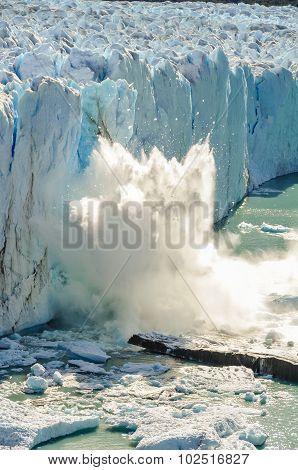 Falling Ice, Perito Moreno Glacier, Argentina