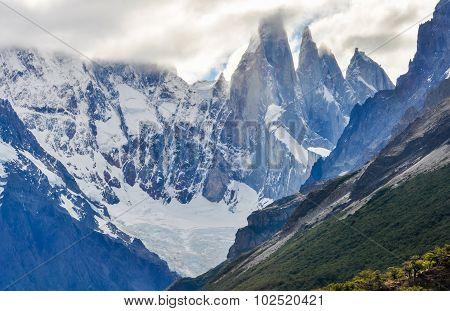 Cerro Torre Peaks, El Chalten, Argentina