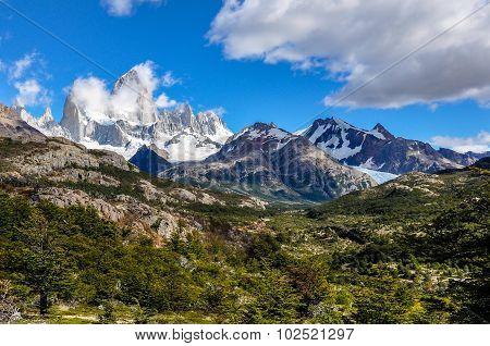 Fitz Roy Peaks, El Chalten, Argentina